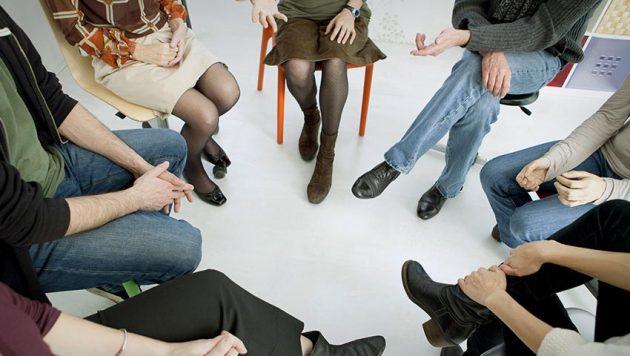 Процесс реабилитации посредством групповых занятий