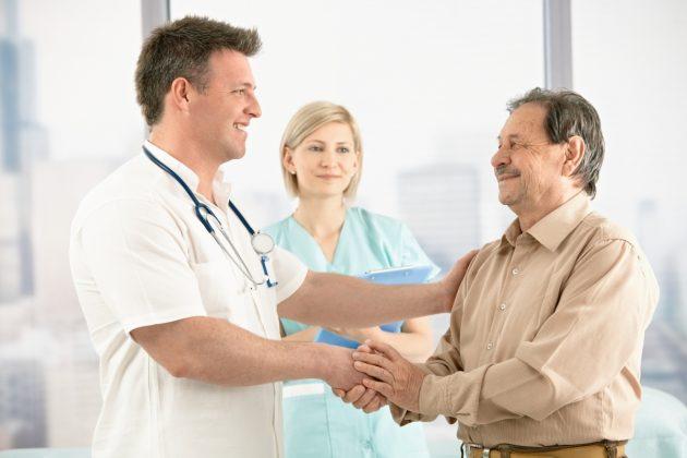 Работа пациента с врачами