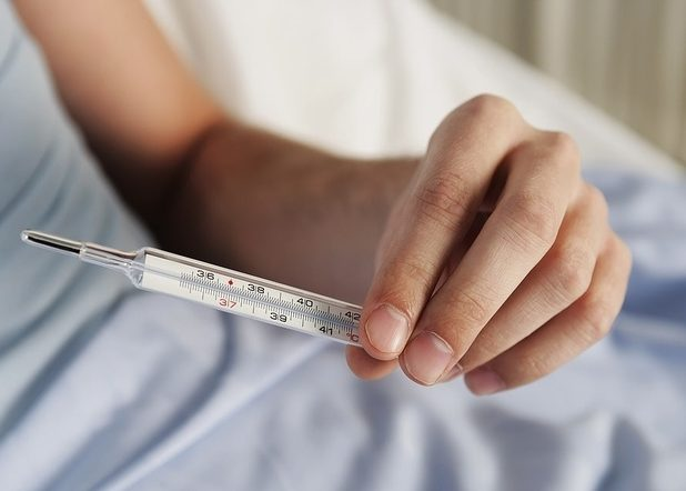 Резкое повышение температуры тела