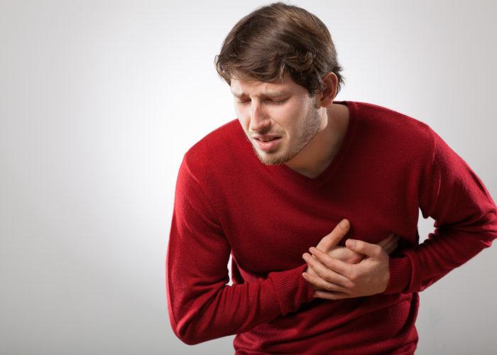 Сжимающая боль в области сердца