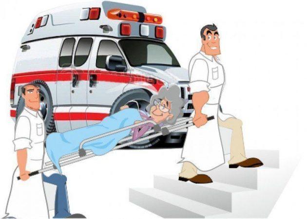 Транспортировка пациента в центр