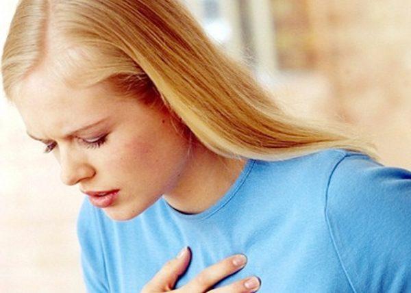 Учащение дыхания
