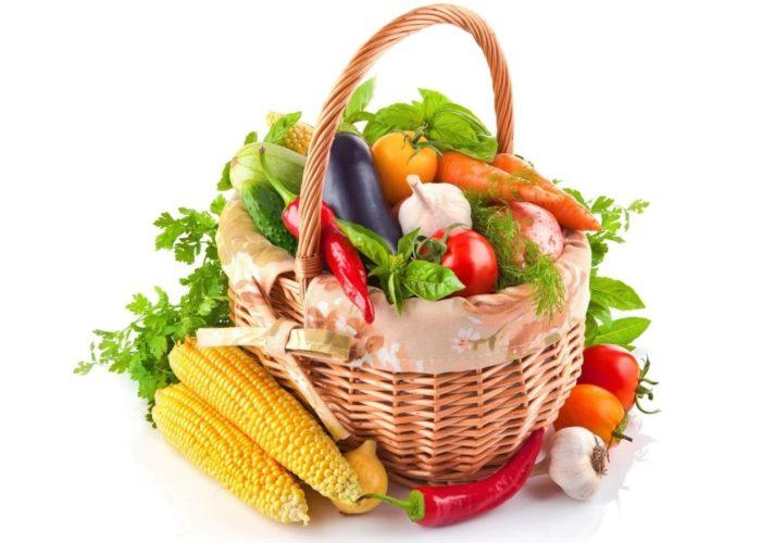 Увеличить потребление свежих овощей