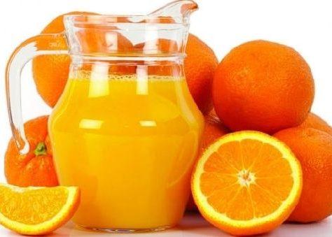 Витамин C, наибольшее его количество содержится в цитрусовых