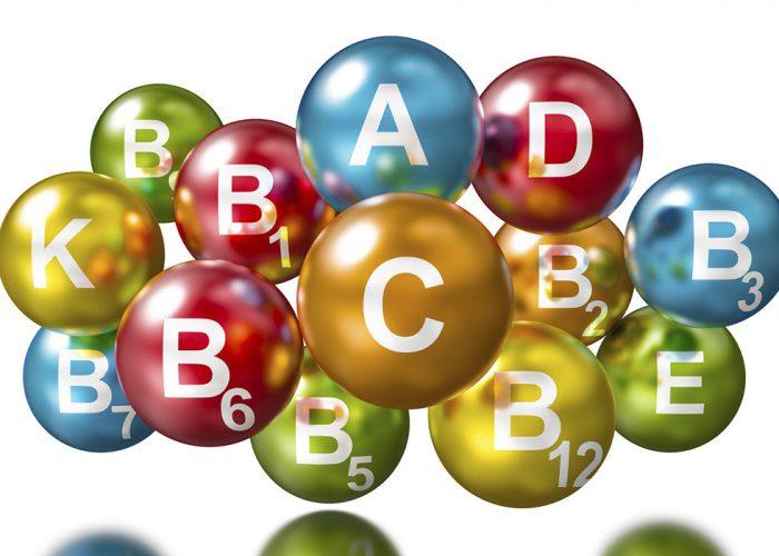 Витамины, входящие в группу B.