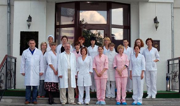 Медперсонал реабилитационного центра «Краснодар»