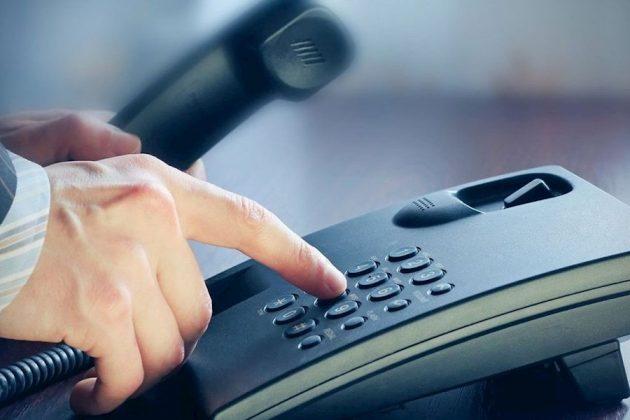 Звонок на горячую линию клиники