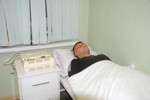 погружение пациентов в электросон