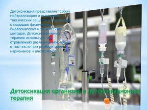 Выведение химических веществ из организма пациента