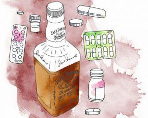 Алкоголь и лекарства несовместимы