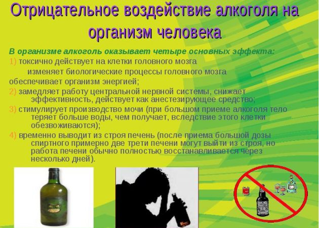 Алкоголь и организм