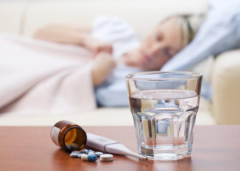 Алкоголь при простуде