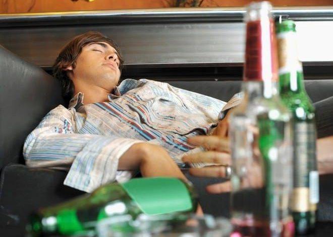 Алкогольной интоксикация