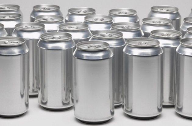 Алюминиевые банки под пиво