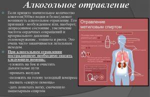 Чем может быть опасно алкогольное отравление