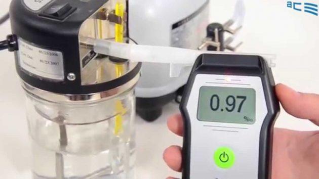 Электрохимический алкотестер