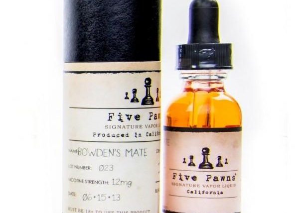 Five-Pawns (Bowden's Mate)