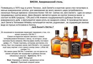 История возникновения и описание виски
