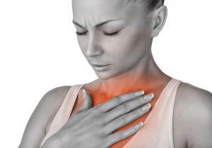 Изжога - один из симптомов проявляющихся в процесе отказа от курения