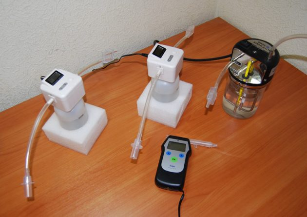 Калибровка алкотестера сухим газом может проводиться в любом помещении