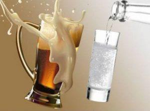 Коктейль «Чпок» вводит в состояние алкогольного опьянения