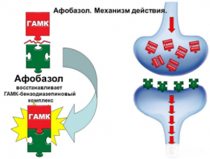 Механизм действия Афобазола