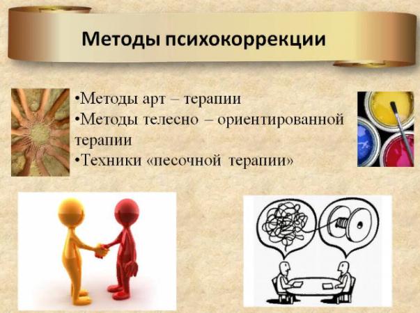 Методы психокоррекции
