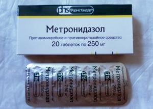 Метронидазол несовместим с Цианамидом