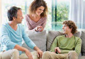 Налаживание общения с подростком