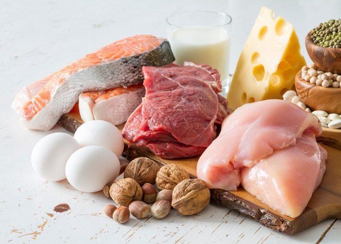 Недостаточное употребление животных и растительных белков