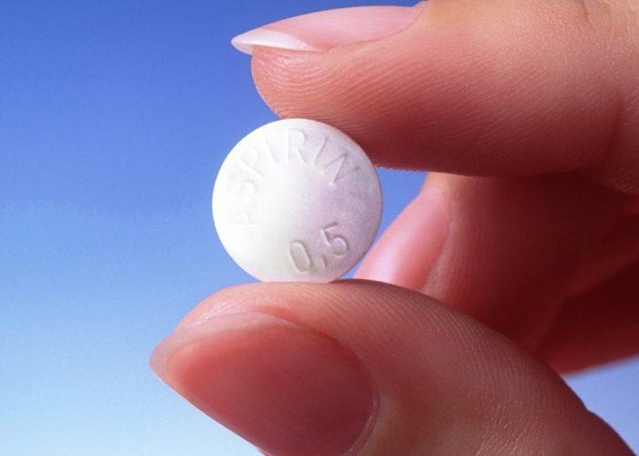 Необходимо принять таблетку Аспирина