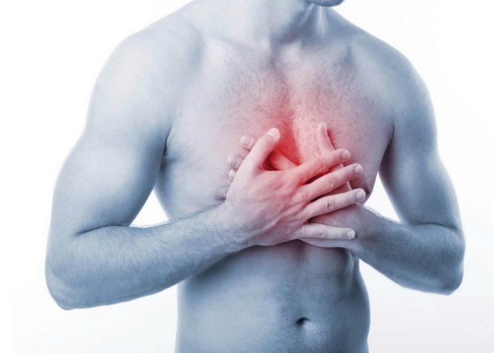 Неприятные ощущения в области грудной клетки