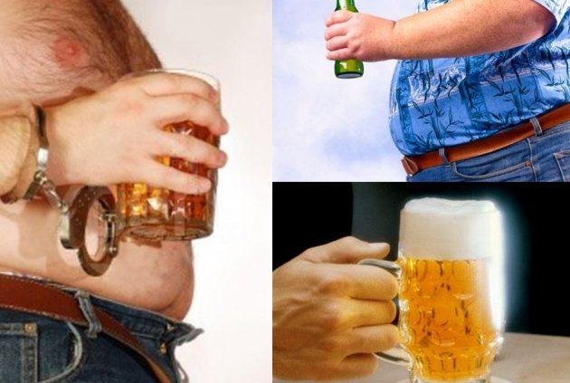 Особенности влияния спиртных напитков на массу тела
