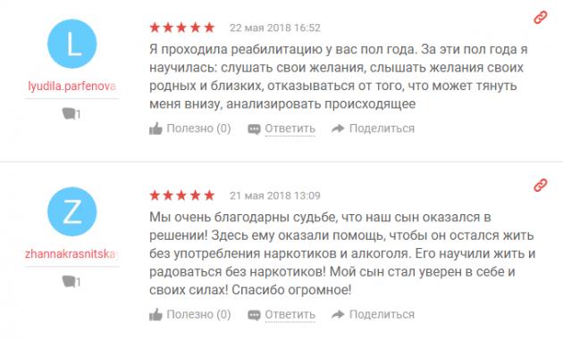 Отзвыв о клиннике Решение в Ярославле - yell.ru