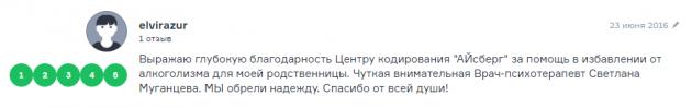 Отзвыв о наркологической клиннике Айсберг в Екатеринбурге - ekaterinburg.flamp.ru