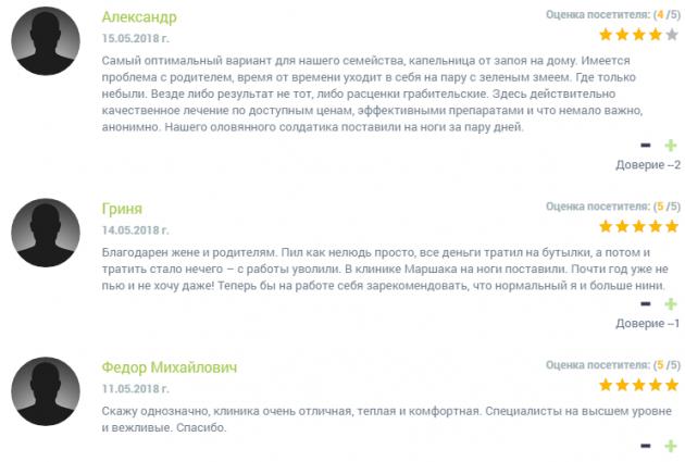 Отзыв о клиннике Горизонт в Рязани - narko-kliniki.ru