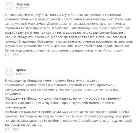 Отзывы о центр Вершина – Ярославль - u-doktora.ru