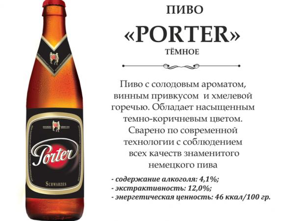Пиво Портер