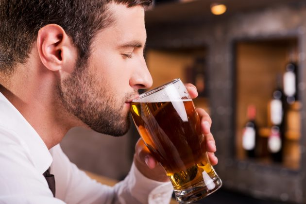 Пиво можно употреблять в барах