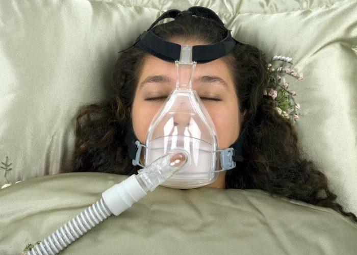Подключение кислородной маски