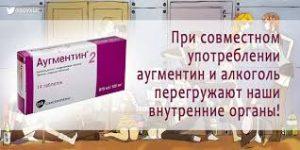 Препарат Аугментин и алкоголь
