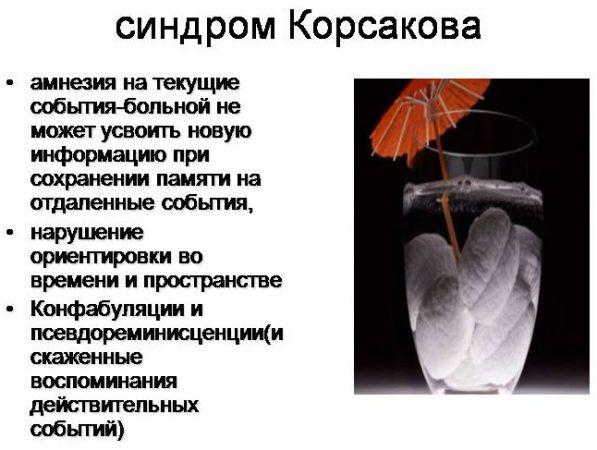 Синдром Корсакова