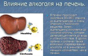 Токсическое воздействие на печень
