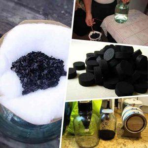 Угольная очистка самогона