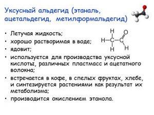Уксусный альдегид (этаналь, ацетальдегид, метилформальдегид)