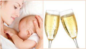 Употребление алкоголя при гудном вкармливании