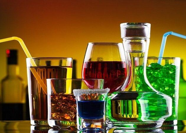 Виды спиртного напитка