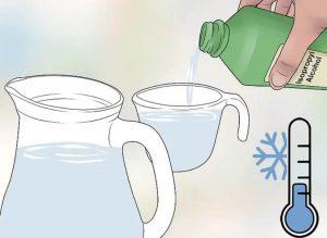Водный раствор изопропилового спирта используеться для дезинфекции