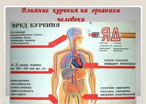 Разрушения внутренних органов
