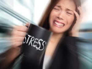 Сильный стресс - одна из причин симптомов рвоты
